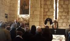 الكورة أحيت رتبة دفن المسيح ودعوة الى التقوى ونبذ الاحقاد