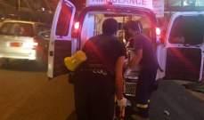 الدفاع المدني: جريحان اثر انزلاق دراجة نارية على اوتوستراد جونية
