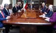 الرئيس عون دعا اللبنانيين للتعبير عن تضامنهم مع الصليب الاحمر وتقديرهم له
