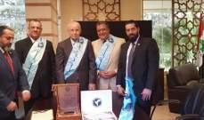 تكليف عبد الرحيم مراد منصب سفير النوايا الحسنة في العالم