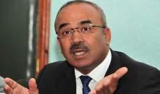 وزير جزائري أعلن عن خطة مشتركة مع موريتانيا لتنمية المناطق الحدودية