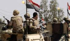 مقتل وإصابة 15 عسكريا بالإضافة إلى 7 عناصر إرهابية بشمال سيناء