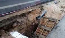 النشرة: سقوط سيارتين في الحفريات قرب مركز بريد صيدا