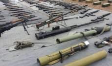 النشرة: القوات السورية عثرت على أسلحة وأدوية إسرائيلية وأميركية بريفي دمشق والقنيطرة