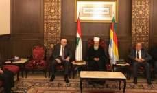 الشيخ نعيم حسن دعا إلى تحصين التحرير بمزيد من الوحدة الوطنية