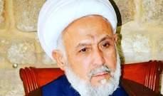 الشيخ ياسين: لانجاز الموازنة حتى تتفرغ الدولة لحل ازمات المواطنين