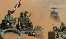 مصادر أمنية للـ OTV: الجيش مستمر في عملياته لملاحقة كل المخليّن بالأمن