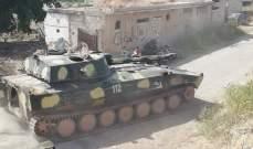 مسلحو النصرة يهاجمون الجيش السوري في ريف حماة بالغازات السامة