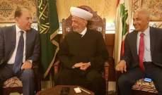 دريان التقى رئيس غرفة التجارة والصناعة والزراعة في طرابلس