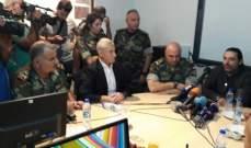 الحريري من رأس بعلبك: كل الحكومة وراء الجيش البطل الذي يقوم بمهمة صعبة