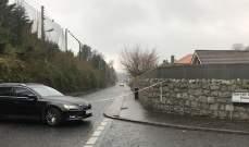 انفجار عبوة ناسفة في سيارة  في مدينة لندنديري بايرلندا الشمالية