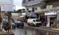 النشرة: تسرب مادة المازوت على طريق عام الدوير النبطية