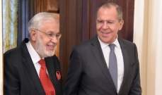 خارجية روسيا: لافروف يلتقي نائب رئيس حكومة الوفاق الليبية ووزير الخارجية غدا
