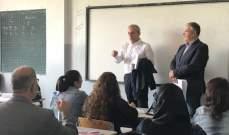 اللبكي أشرف على انطلاق الدورات التدريبية للموظفين المشاركين في ادارة العملية الانتخابية