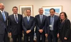 بطيش التقى على رأس وفد المديرين التنفيذيين في مجموعة البنك الدولي