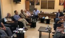 قيادة فصائل منظمة التحرير الفلسطينية نقلت هموم المخيمات الفلسطينية إلى بري