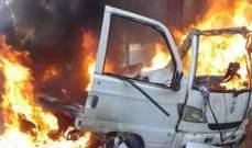 عدد من الإصابات بإنفجار سيارة مفخخة في ساحة الحمام في اللاذقية