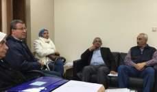 سعد التقى وفداً من لجنة المساهمين والمودعين في تعاونيات لبنان