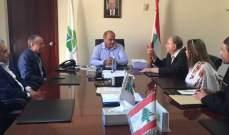 وزير البيئة ترأس اجتماعا حول معمل معالجة النفايات في صيدا