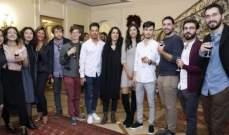سفيرة لبنان بايطاليا كرمت المشاركين في مهرجان الفيلم المتوسطي في روما