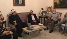 البزري استقبل الأمين العام لحركة التوحيد الإسلامي