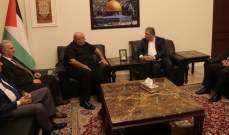حمدان أكد وقوف المرابطون الى جانب نضال الشعب الفلسطيني