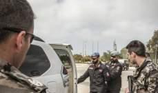 الكتيبة الايطالية نفذت حول تقنيات التحقيق ونقاط التفتيش لصالح امن الدولة بشمع