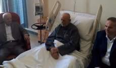 مراد زار مفتي زحلة والبقاع مطمئنا إلى صحته