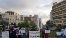 اعتصام لأهالي المحكومين في أحداث عبرا بصيدا للمطالبة بالعفو العام