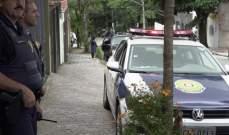 شرطي ينقذ رضيعًا يختنق في البرازيل