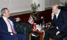الرياشي التقى سفيري الصين وبريطانيا وبحث معهما الوضع الحكومي