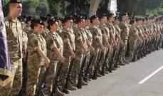 إقامة حفل تخريج جنود إناث في لواء الحرس الجمهوري