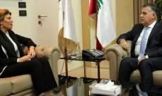 اللواء إبراهيم بحث وماروتي في تعزيز التعاون والتقى ميرا ضاهر