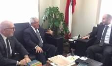 فادي جريصاتي عرض لمشاريع شراكة بيئية مع الجامعة اللبنانية الاميركية