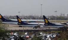 1100 طيار هندي يضربون عن العمل لأنهم لم يتقاضوا رواتبهم لثلاثة أشهر