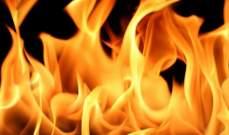 الدفاع المدني: إخماد حريق داخل مكتبة في ذوق مكايل والأضرار مادية