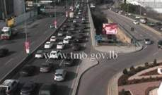 التحكم المروري: حركة المرور كثيفة من شارل الحلو باتجاه الصيفي