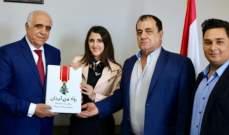 القصيفي استقبل وفدا من المؤسسة اللبنانية للاعلام - لجنة رواد من لبنان
