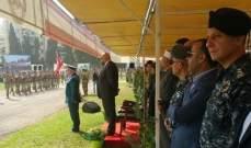 ممثل قائد الجيش في تخريج مجندين في طرابلس: كونوا قدوة لمن يأتي بعدكم