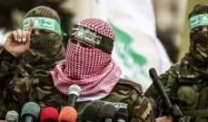 """""""القسام"""": التوغل الإسرائيلي أمس استهدف تنفيذ مخطط كبير"""