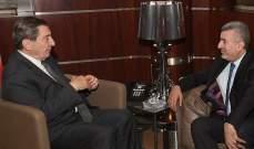 الفرزلي استقبل السفير اليمني