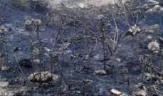 الدفاع المدني: إخماد حريقي أعشاب في الفوار وفي كامد اللوز