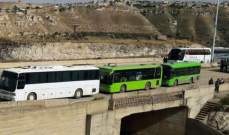 دخول حافلات من طريق حمص-تلبيسة إلى الرستن لإخراج الدفعة الرابعة من المسلحين