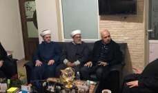 وفد من حركة الأمة زار زحلة والتقى النائبين جمعة وعون