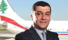 الحوت يحذر من اللعب بهوية شركة طيران الشرق الأوسط: شركة تجارية خاصة