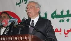 زعيتر: هناك حاجة للاتصال بالجانب السوري لتسهيل فتح طريق معبر نصيب امام اللبنانيين