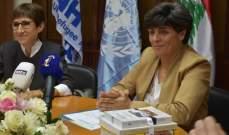 ميراي جيرار: نثمن عمل مجلس كنائس الشرق الأوسط في لبنان بإغاثة اللاجئين