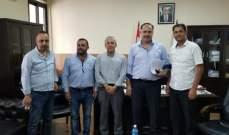 اللبكي التقى وفدا من اللجنة المركزية لعودة النازحين في الوطني الحر