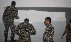 إعادة تأهيل وطلاء 20 صفا في مدرسة في مجدل سلم بإطار تعاون بين الجيش واليونيفيل
