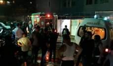 النشرة: إندلاع حريق داخل موقف للسيارات في منطقة التبانة بطرابلس
